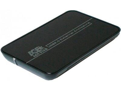 """������ ��� �������� ����� AgeStar SUB2A8 usb2.0 to 2.5""""hdd SATA, Black"""