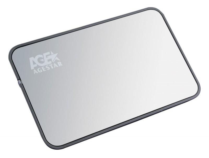 "Корпус для жесткого диска AgeStar SUB2O5 usb2.0 to 2.5""hdd SATA, Aluminium ( SUB2O5 )"