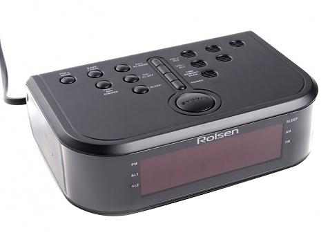 Радиобудильник Rolsen CR-110, Black1-RLDB-CR110