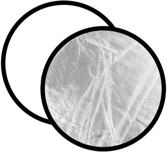 Ditech RF110WS, White Silver круглый отражательRF110WSОтражатель Ditech RF110WS предназначен для рассеивания светового потока и создания комфортных условий для снимков. Он станет незаменимым дополнением при съемке с естественным освещением. Используется для студийной или выездной фотосессии. Данная модель обладает белой и серебристой отражающей поверхностью.