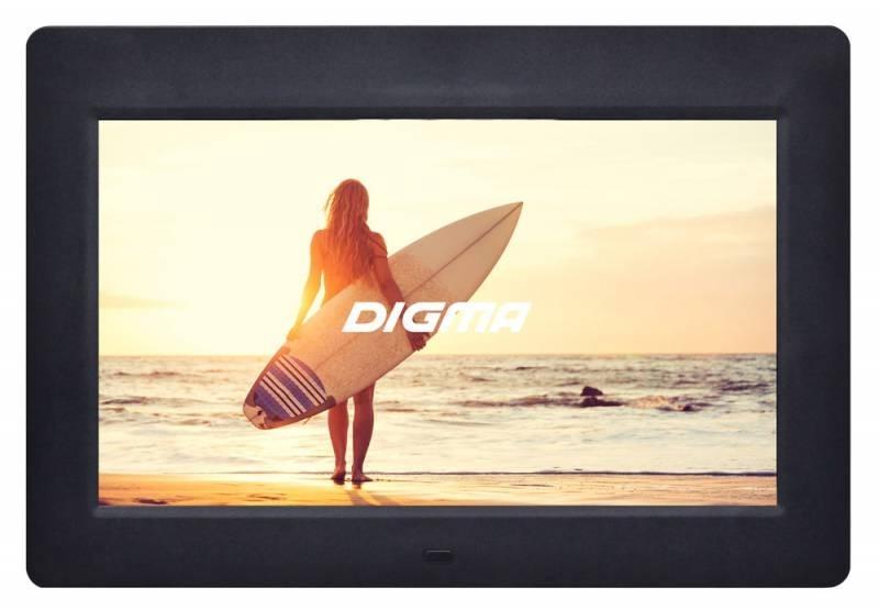 Цифровая фоторамка Digma PF-1033, White