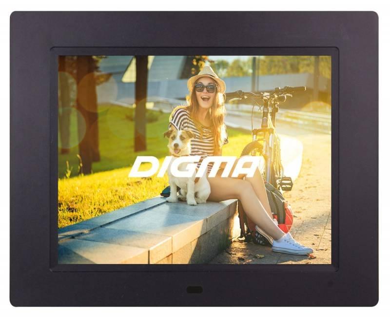 Цифровая фоторамка Digma PF-833, Black