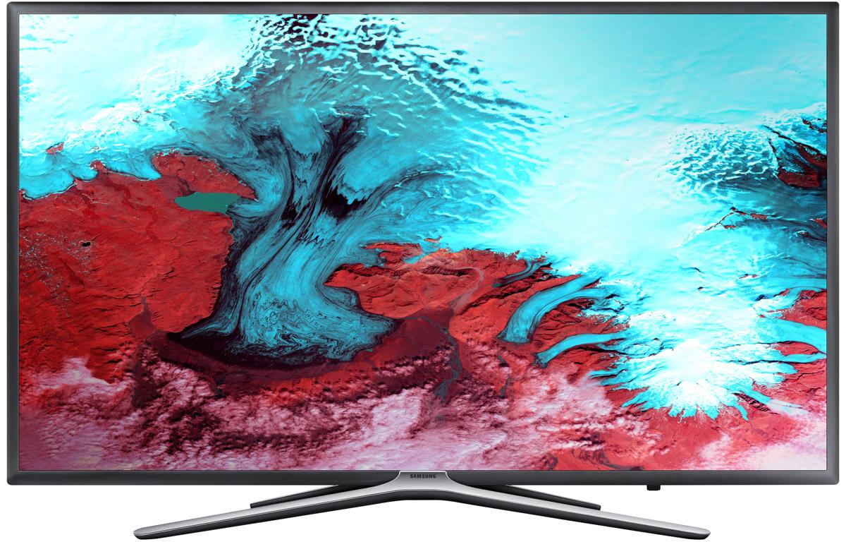 Samsung UE-49K5500BUX телевизор90000001012Телевизор Samsung UE49K5500BUX, благодаря современной технологии подсветки LED, обладает чрезвычайно малой толщиной экрана, а сочетание с утонченным дизайном позволяет телевизору удачно вписаться в любой интерьер. Встроенный DVB-T2CS2 тюнер дает возможность приема спутниковых каналов в цифровом качестве.