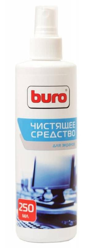 Спрей для экранов ЖК мониторов Buro BU-Sscreen, 250 млBU-SSCREENСпрей для очистки экранов мониторов, телевизоров, ноутбуков и другой техники от грязи, пыли и отпечатков пальцев. Обладает антистатическим и антибактериальным действием.