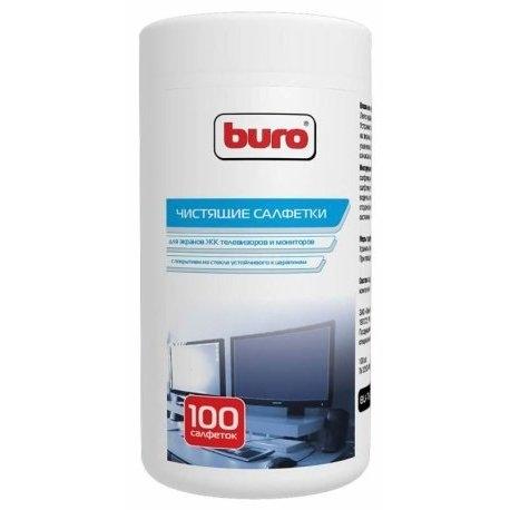 Салфетки чистящие для экранов Buro BU-TscrlBU-TSCRLВлажные чистящие салфетки для мониторов и телевизоров. Не содержат спирта и растворителей. Оказывают антистатическое действие и не оставляют разводов.