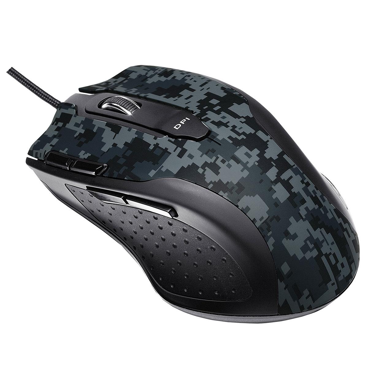 Игровая мышь Asus Echelon, Grey Black90YH0051-BBUA00Геймерская лазерная мышь Echelon обеспечивает точность каждого движения. Вы можете быстро переключать разрешение сенсора, выбирая одно из пяти значений. Мышь также имеет отдельную кнопку для быстрого переключения сенсора в режим с максимальным разрешением. Благодаря встроенной памяти объемом 128 килобайт мышь может хранить макросы для воспроизведения последовательности действий. Прочный и эргономичный корпус Echelon гарантирует вам комфорт в самых длительных и напряженных баталиях. Быстрое переключение разрешения сенсора Выбор одного из пяти значений DPI. Для снайперского выстрела Мгновенная смена разрешения сенсора. Для стрельбы очередью Автоповтор нажатия кнопки мыши. Простая настройка Восемь программируемых кнопок и специальные грузики для настройки веса.