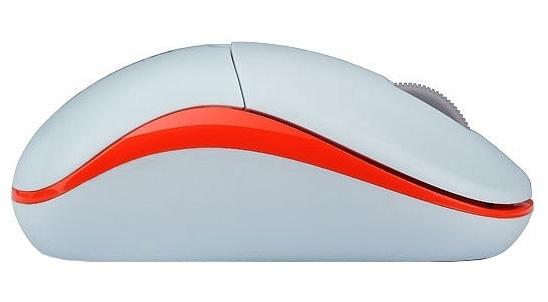 Мышь Rapoo 1090p Light, White Orange11466Rapoo 1190 - это беспроводная оптическая мышь. Подключается к компьютеру с помощью небольшого радиоприемника, который вставляется в USB-разъем. Высокоточный оптический датчик обеспечивает гладкое передвижение. Благодаря энергосберегающей технологии мышь работает до 9 месяцев без отключения питания.