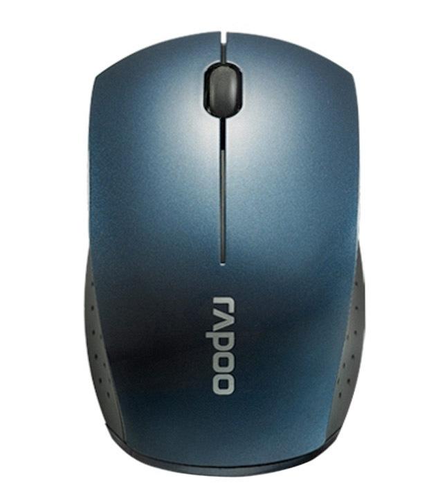Мышь Rapoo Mini 3360, Blue