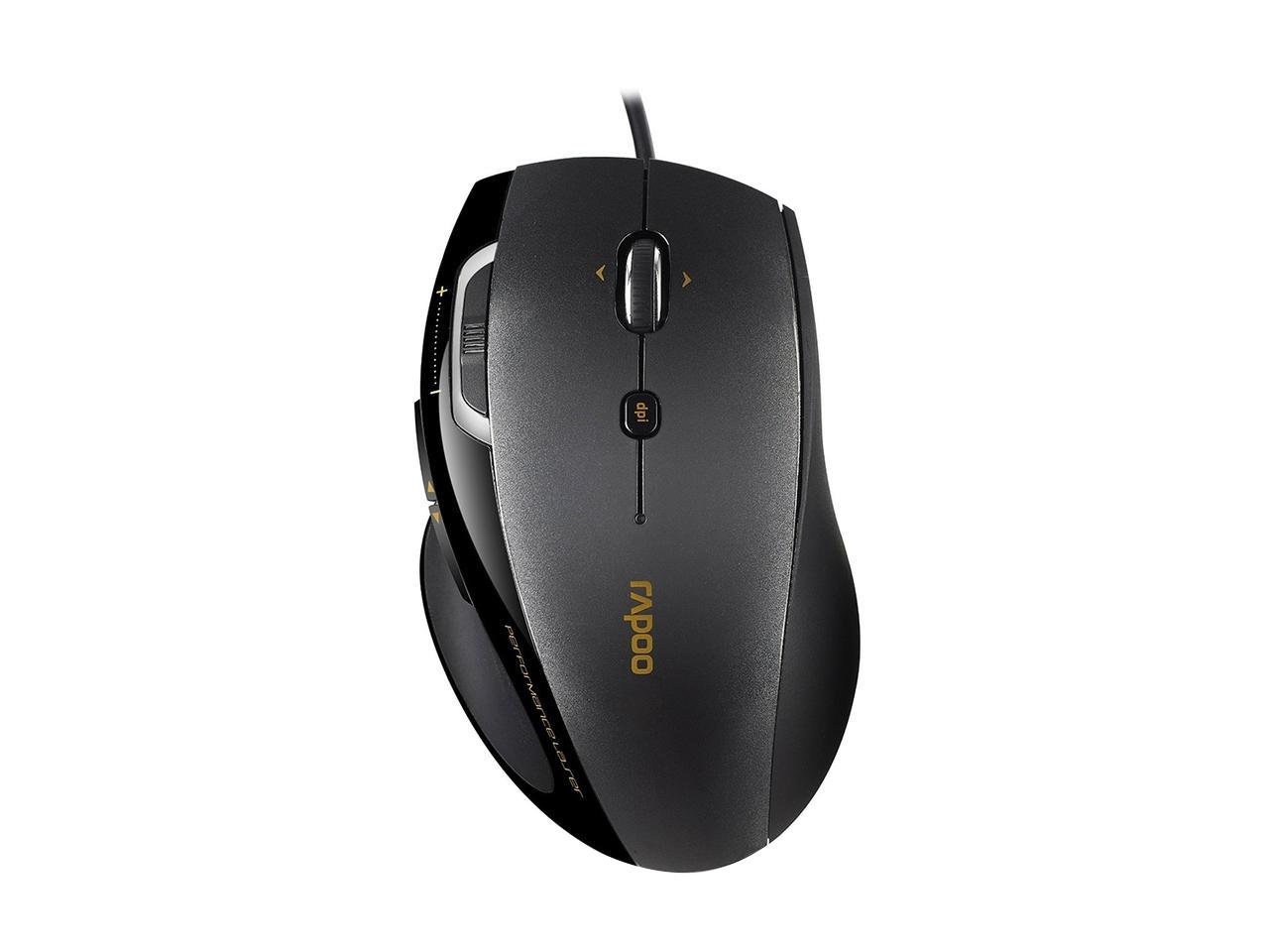 Мышь Rapoo 6200, Black