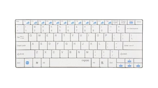 Клавиатура Rapoo E9050, White