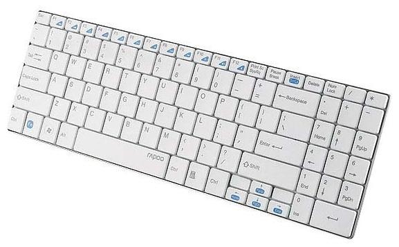 Клавиатура Rapoo E9070, White