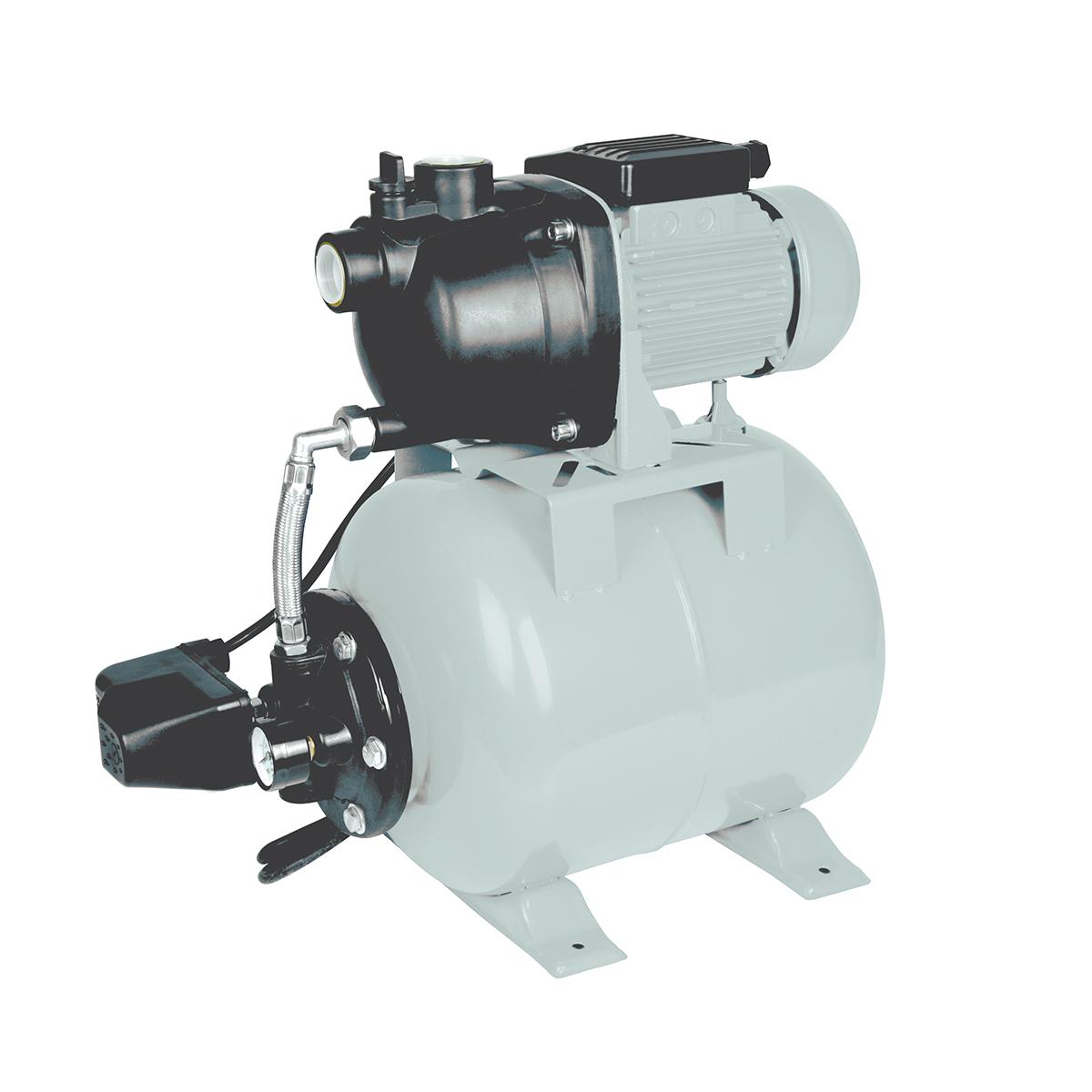 Насосная станция Ставр НС-600/20ст600-20нсНапряжение сети, В: 220 Частота Гц: 50 Потребляемая мощность, Вт: 600 Максимальная производительность, л/мин: 50 Напор, м: 35 Диапазон выдаваемого давления, атм: 1,4-3,2 Максимальная глубина всасывания, м: 8 Объем мембранного бака, л: 20 Максимальный размер пропускаемых частиц, мм: 5 Максимальная температура воды, °С: 40 Диаметр входного патрубка, дюйм(мм): 1(25) Диаметр выходного патрубка, дюйм(мм): 1(25) Защита от перегрева: есть Класс защиты: IPX4 Длина сетевого кабеля, м: 1,5 Масса, кг: 10,7