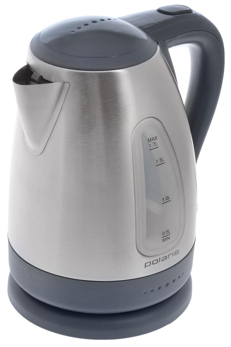Polaris PWK 1758CA, Gray Light Blue электрический чайник