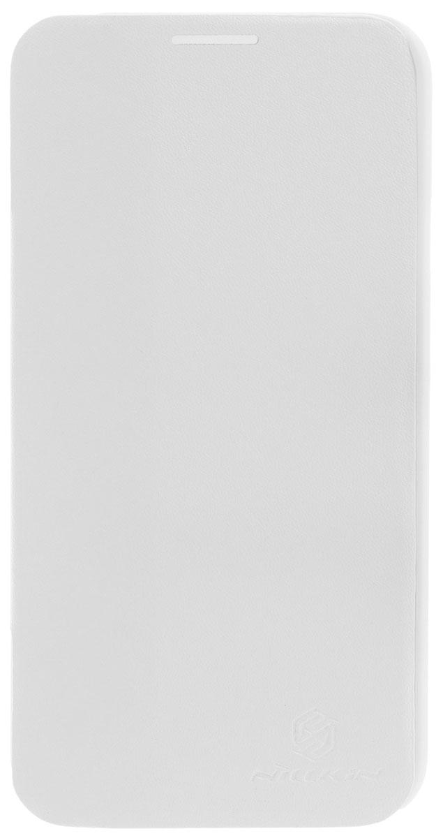 Nillkin V-series чехол для LG G Pro E980, White2000000009186Чехол Nillkin V-series для LG G Pro E980 выполнен из высококачественного поликарбоната и искусственной кожи. Он надежно фиксирует и защищает смартфон при падении. Обеспечивает свободный доступ ко всем разъемам и элементам управления.
