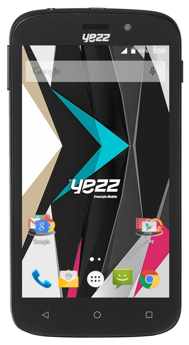 Yezz Andy 5EI3, BlackANDY 5EI3 3G DS BlackБюджетный Android-смартфон Yezz Andy 5EI3 порадует, в первую очередь, высоким качеством исполнения и оптимальным набором функций для современного пользователя. 5-дюймовый TFT экран обеспечивает качественное изображение при любых условиях. Благодаря мощному двухъядерному процессору MediaTek MT6572M с частотой 1 ГГц и 512 МБ оперативной памяти ресурсоемкие игры и приложения, онлайн фильмы, браузинг и многозадачность доступны вам в любое время. Храните свои фото, видео и приложения на 4 ГБ внутренней памяти - этого вполне достаточно для большого количества файлов. Если вам понадобится больше места - просто расширьте память с помощью SD карты объемом до 64 ГБ. Используйте преимущества основной камеры с разрешением 5 Мпикс для создания качественных видео или делайте селфи с помощью 1,3-мегапиксельной фронтальной камеры. Yezz Andy 5EI3 имеет два слота для SIM-карт - используйте две карты для интернета и звонков или оставайтесь на связи с друзьями...