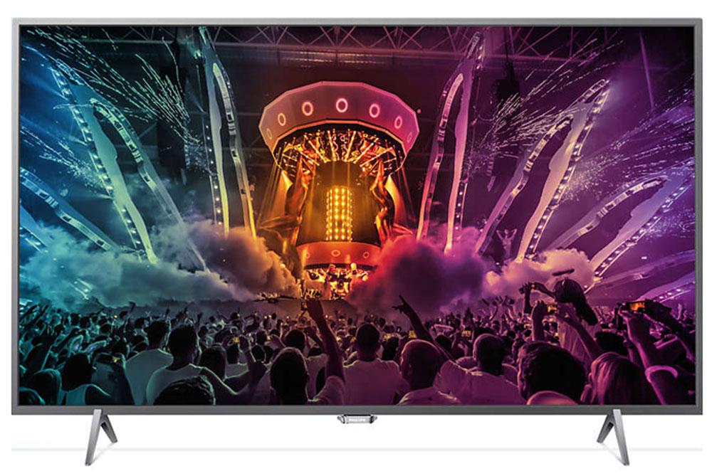 Philips 32PFS6401/60, Silver телевизор32PFS6401/60Philips 32PFS6401/60 - ультратонкий светодиодный FHD LED TV на базе ОС Android TV. Совершенно новые впечатления от просмотра благодаря фоновой подсветке Ambilight Уникальная технология Philips Ambilight визуально расширяет границы экрана и усиливает впечатления от просмотра за счет проекции светового ореола по двум сторонам от экрана. Эта технология увеличивает яркость и насыщенность красок, позволяя полностью погрузиться в происходящее на экране. Процессор Dual Core и ОС Android для надежной работы Android легко справляется с поставленными задачами, обеспечивая быстрое перемещение по меню телевизора, удобную работу с приложениями и легкое воспроизведение видеофайлов, чтобы вы могли в полной мере наслаждаться любимыми развлечениями. ОС Android оправдывает свое название: это настоящий робот, который ускоряет работу процессора Dual Core и гарантирует удобство использования. В облачном игровом сервисе содержится множество...