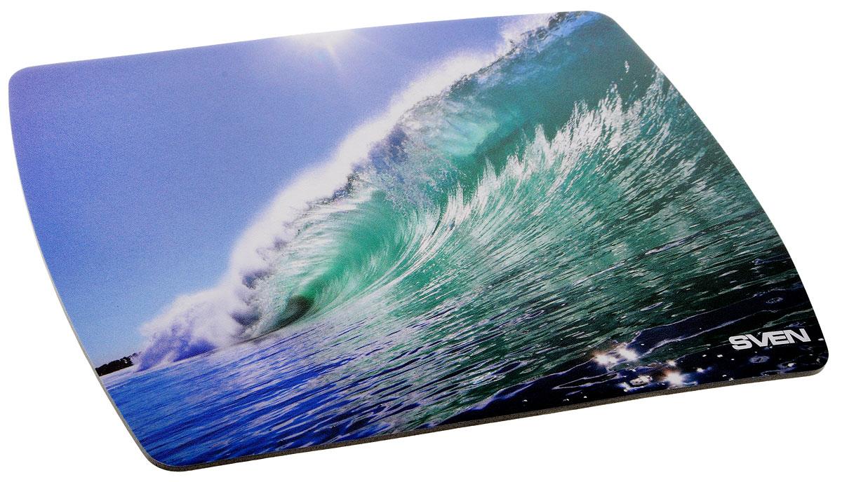 Sven UA, Blue Turquoise коврик для мыши коврик для мыши pcpet colorfull nature rgm02 голубой с рисунком 648600