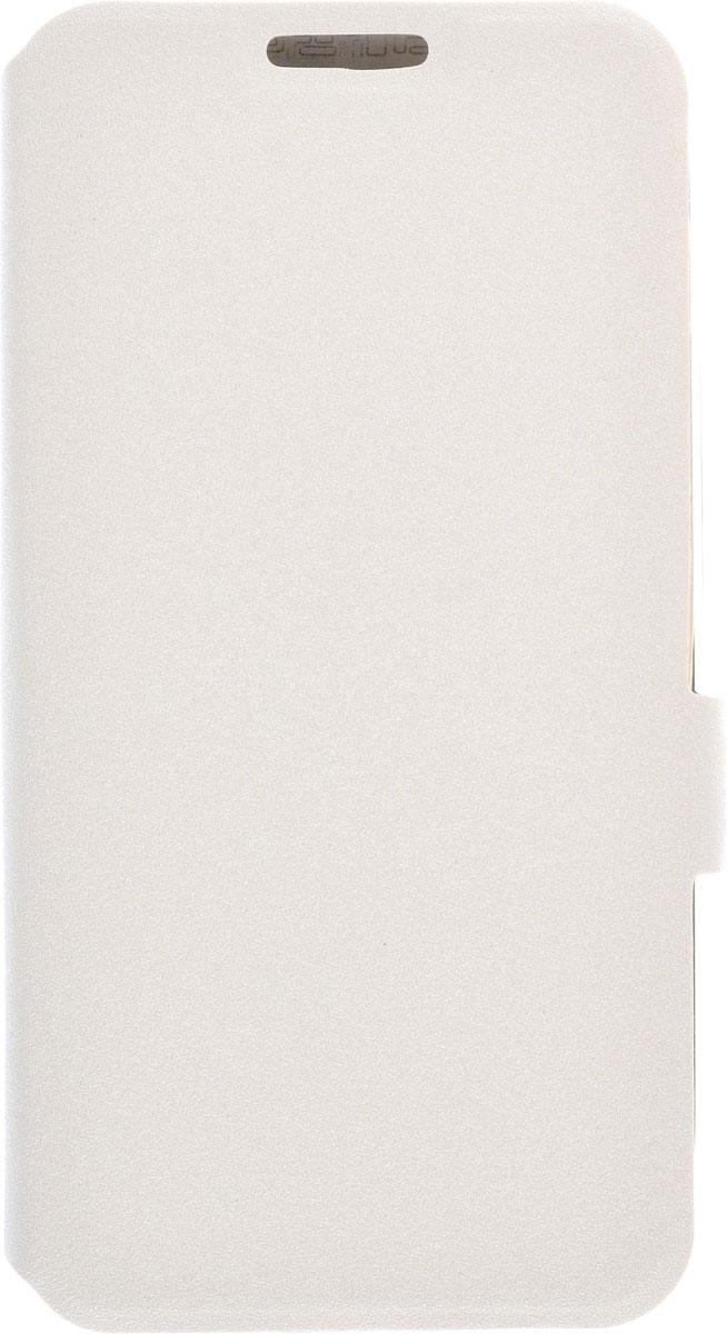 Prime Book чехол для Asus ZenFone Go (ZC500TG), White2000000092348Чехол Prime Book для Asus ZenFone Go (ZC500TG) выполнен из высококачественного поликарбоната и экокожи. Он обеспечивает надежную защиту корпуса и экрана смартфона и надолго сохраняет его привлекательный внешний вид. Чехол также обеспечивает свободный доступ ко всем разъемам и клавишам устройства.