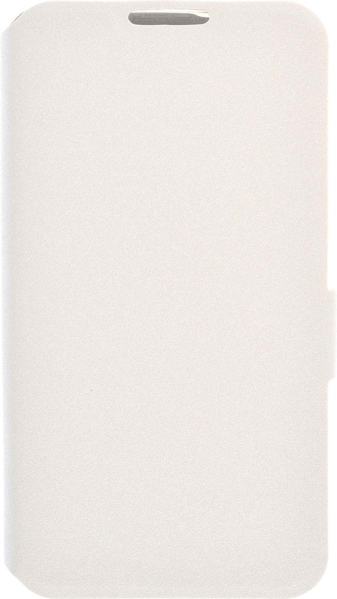 Prime Book чехол для LG K4, White2000000091815Чехол Prime Book для LG K4 выполнен из высококачественного поликарбоната и экокожи. Он обеспечивает надежную защиту корпуса и экрана смартфона и надолго сохраняет его привлекательный внешний вид. Чехол также обеспечивает свободный доступ ко всем разъемам и клавишам устройства.