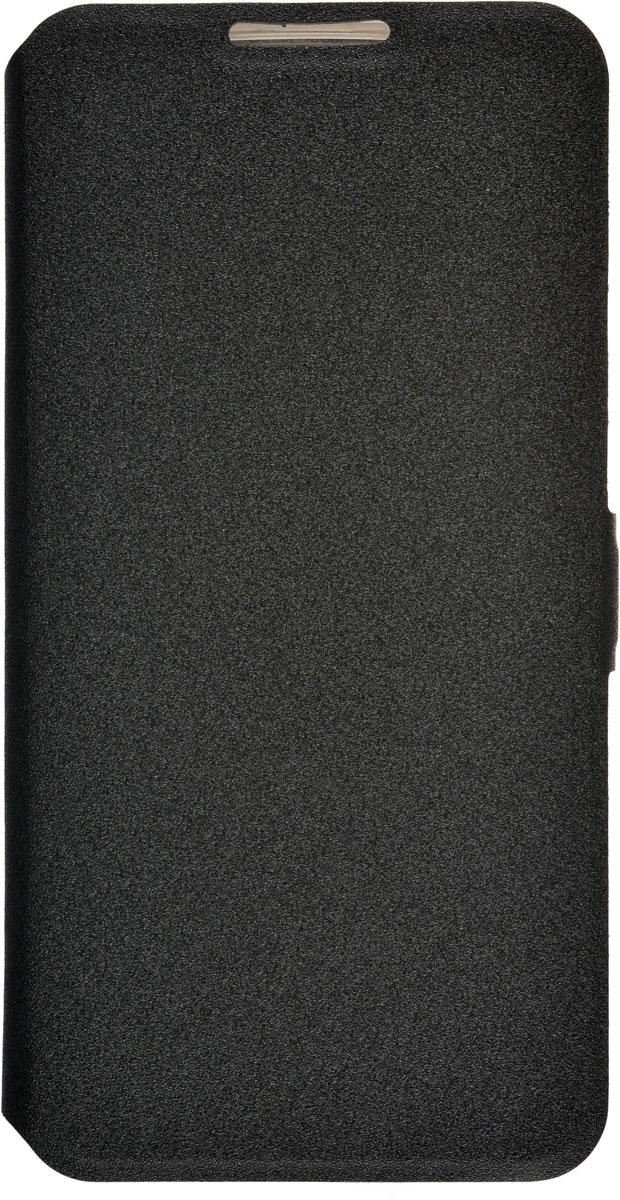Prime Book чехол для LG K8, Black2000000091068Чехол Prime Book для LG K8 выполнен из высококачественного поликарбоната и экокожи. Он обеспечивает надежную защиту корпуса и экрана смартфона и надолго сохраняет его привлекательный внешний вид. Чехол также обеспечивает свободный доступ ко всем разъемам и клавишам устройства.