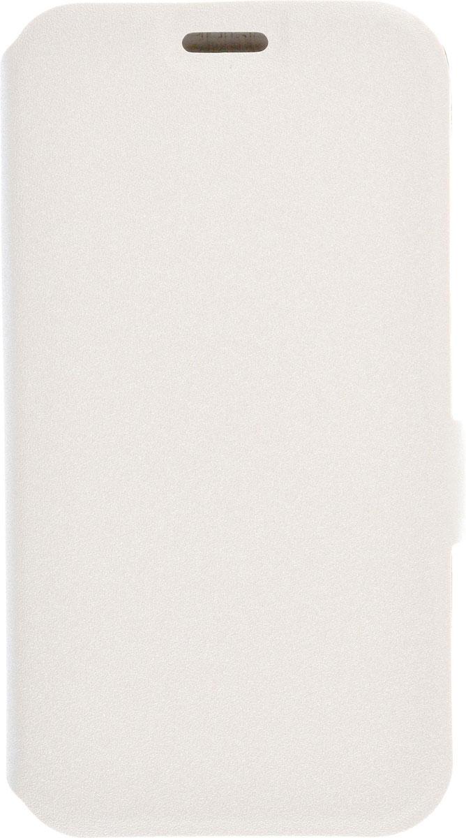 Prime Book чехол для Samsung Galaxy J1 (2016), White2000000091846Чехол Prime Book для Samsung Galaxy J1 (2016) выполнен из высококачественного поликарбоната и экокожи. Он обеспечивает надежную защиту корпуса и экрана смартфона и надолго сохраняет его привлекательный внешний вид. Чехол также обеспечивает свободный доступ ко всем разъемам и клавишам устройства.
