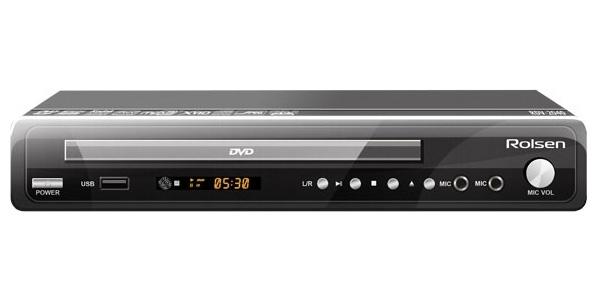 Rolsen RDV-2040, Black DVD-плеер ( RDV-2040 )