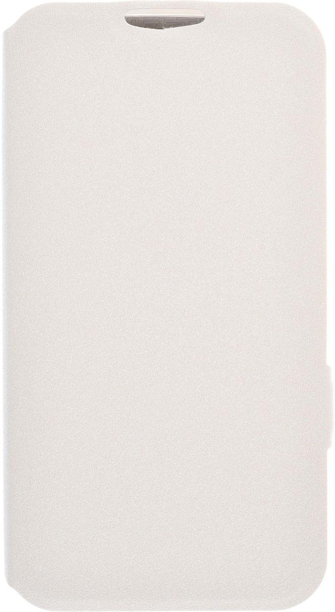Prime Book чехол для LG K10, White2000000091808Чехол Prime Book для LG K10 выполнен из высококачественного поликарбоната и экокожи. Он обеспечивает надежную защиту корпуса и экрана смартфона и надолго сохраняет его привлекательный внешний вид. Чехол также обеспечивает свободный доступ ко всем разъемам и клавишам устройства.