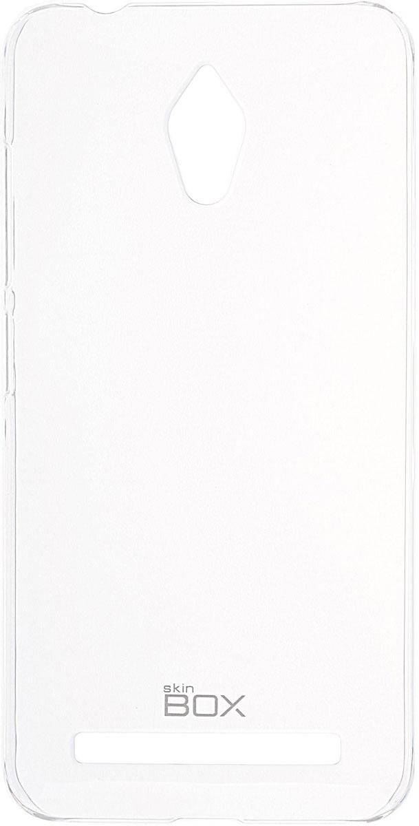 Skinbox 4People Crystal чехол для Asus Zenfone Go ZC500TG, Transparent2000000091570Чехол Skinbox 4People Crystal для Asus Zenfone Go ZC500TG бережно и надежно защитит ваш смартфон от пыли, грязи, царапин и других повреждений. Выполнен из высококачественных материалов, плотно прилегает и не скользит в руках. Чехол оставляет свободным доступ ко всем разъемам и кнопкам устройства.