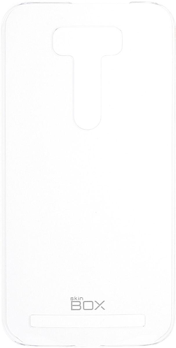 Skinbox 4People Crystal чехол для Asus Zenfone Laser 2 ZE500KL/ZE500KG, Transparent2000000091631Чехол Skinbox 4People Crystal для Asus Zenfone Laser 2 ZE500KL/ZE500KG бережно и надежно защитит ваш смартфон от пыли, грязи, царапин и других повреждений. Выполнен из высококачественных материалов, плотно прилегает и не скользит в руках. Чехол оставляет свободным доступ ко всем разъемам и кнопкам устройства.