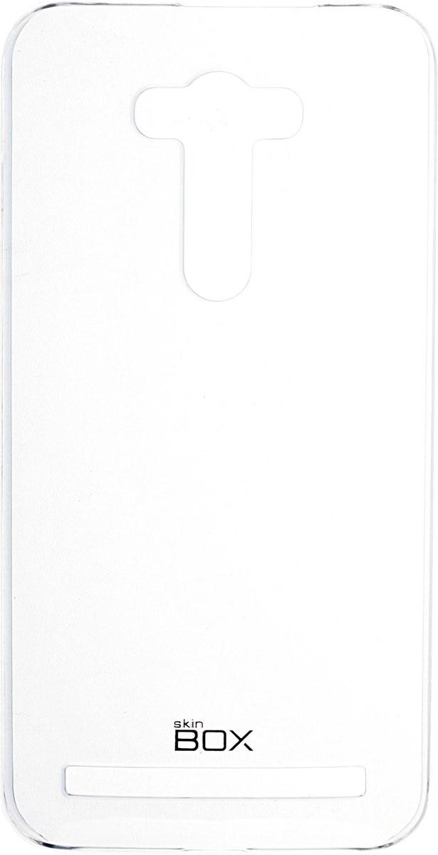Skinbox 4People Crystal чехол для Asus Zenfone 2 Laser (ZE550KL), Transparent2000000091556Чехол Skinbox 4People Crystal для Asus Zenfone 2 Laser (ZE550KL) бережно и надежно защитит ваш смартфон от пыли, грязи, царапин и других повреждений. Выполнен из высококачественных материалов, плотно прилегает и не скользит в руках. Чехол оставляет свободным доступ ко всем разъемам и кнопкам устройства.
