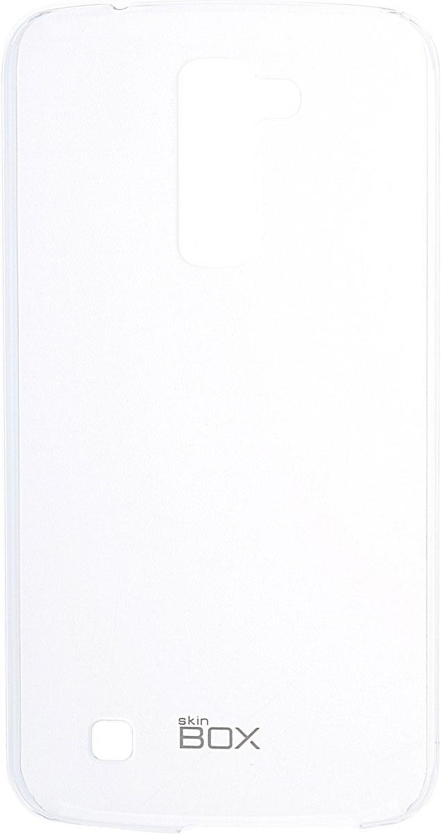 Skinbox 4People Crystal чехол для LG K10, Transparent