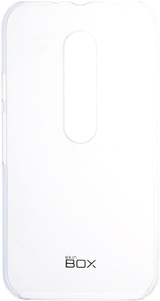 Skinbox 4People Crystal чехол для Motorola Moto G, Transparent2000000091761Чехол Skinbox 4People Crystal для Motorola Moto G бережно и надежно защитит ваш смартфон от пыли, грязи, царапин и других повреждений. Выполнен из высококачественных материалов, плотно прилегает и не скользит в руках. Чехол оставляет свободным доступ ко всем разъемам и кнопкам устройства.
