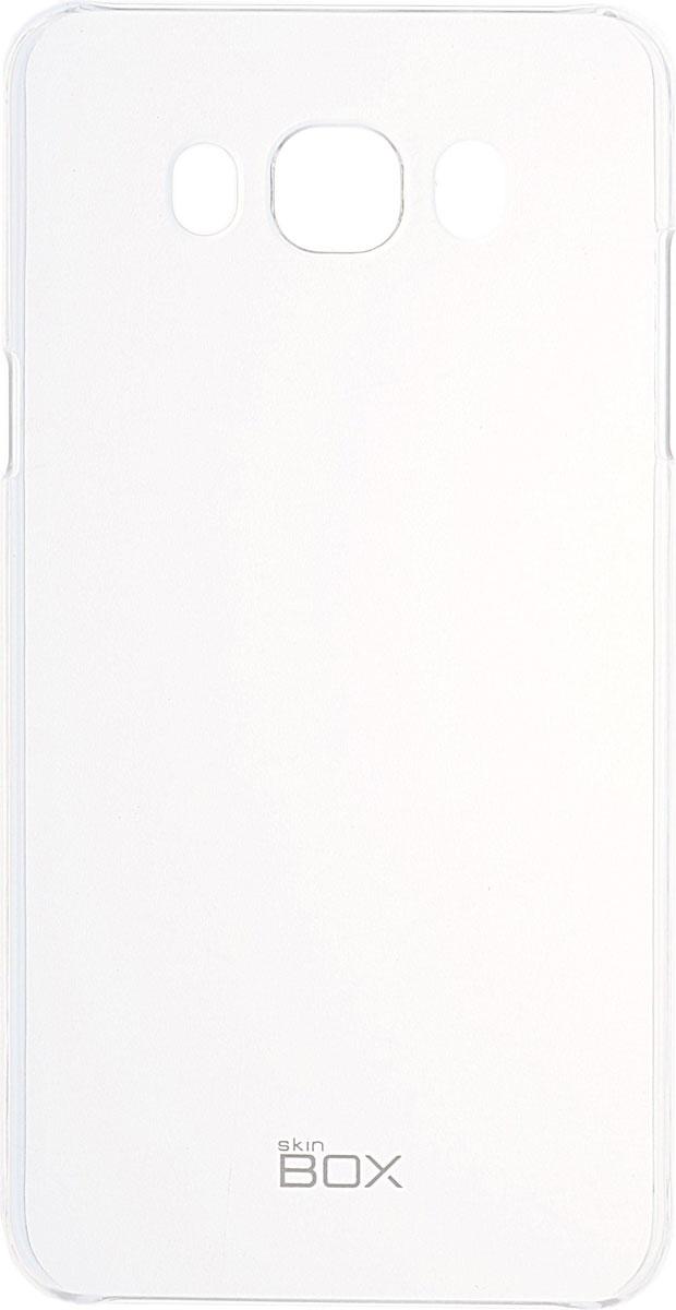Skinbox 4People Crystal чехол для Samsung Galaxy J7 (2016), Transparent2000000091747Чехол Skinbox 4People Crystal для Samsung Galaxy J7 (2016) бережно и надежно защитит ваш смартфон от пыли, грязи, царапин и других повреждений. Выполнен из высококачественных материалов, плотно прилегает и не скользит в руках. Чехол оставляет свободным доступ ко всем разъемам и кнопкам устройства.