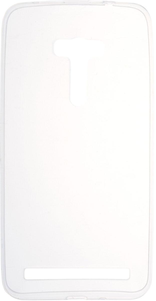 Skinbox 4People Slim Silicone чехол для Asus Zenfone Selfie ZD551KL, Transparent