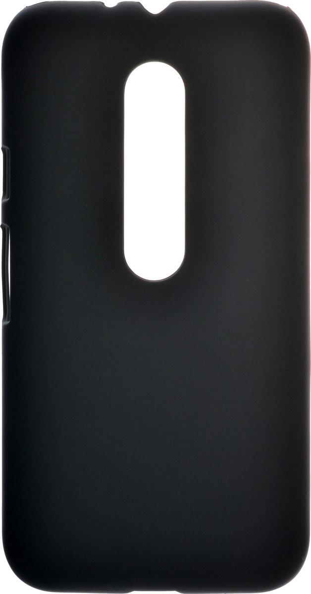 Skinbox 4People чехол для Motorola Moto G, Black2000000090740Чехол-накладка Skinbox 4People для Motorola Moto G бережно и надежно защитит ваш смартфон от пыли, грязи, царапин и других повреждений. Выполнен из высококачественного поликарбоната, плотно прилегает и не скользит в руках. Чехол-накладка оставляет свободным доступ ко всем разъемам и кнопкам устройства.
