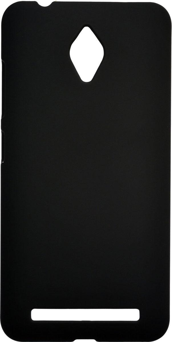 Skinbox Shield 4People чехол для Asus Zenfone Go ZC500TG, Black2000000087153Чехол-накладка Skinbox Shield 4People для Asus Zenfone Go ZC500TG бережно и надежно защитит ваш смартфон от пыли, грязи, царапин и других повреждений. Выполнен из высококачественного поликарбоната, плотно прилегает и не скользит в руках. Чехол-накладка оставляет свободным доступ ко всем разъемам и кнопкам устройства.