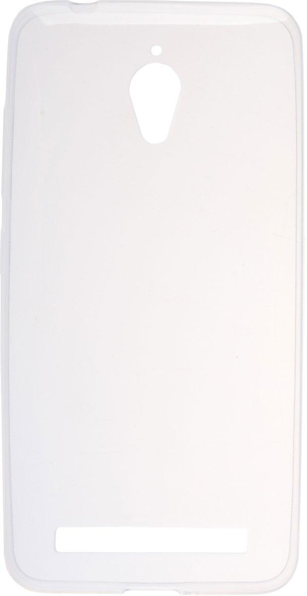 Skinbox Slim Silicone чехол для Asus Zenfone Go ZC500TG, Transparent