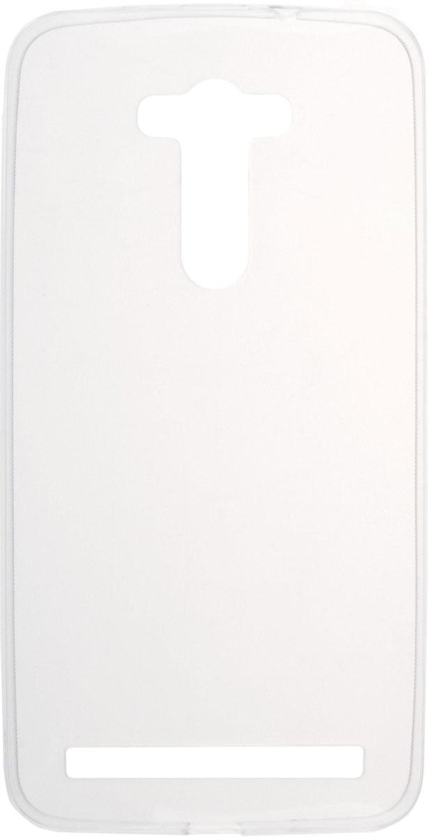 Skinbox Slim Silicone чехол для Asus Zenfone 2 Laser ZE550KL, Transparent