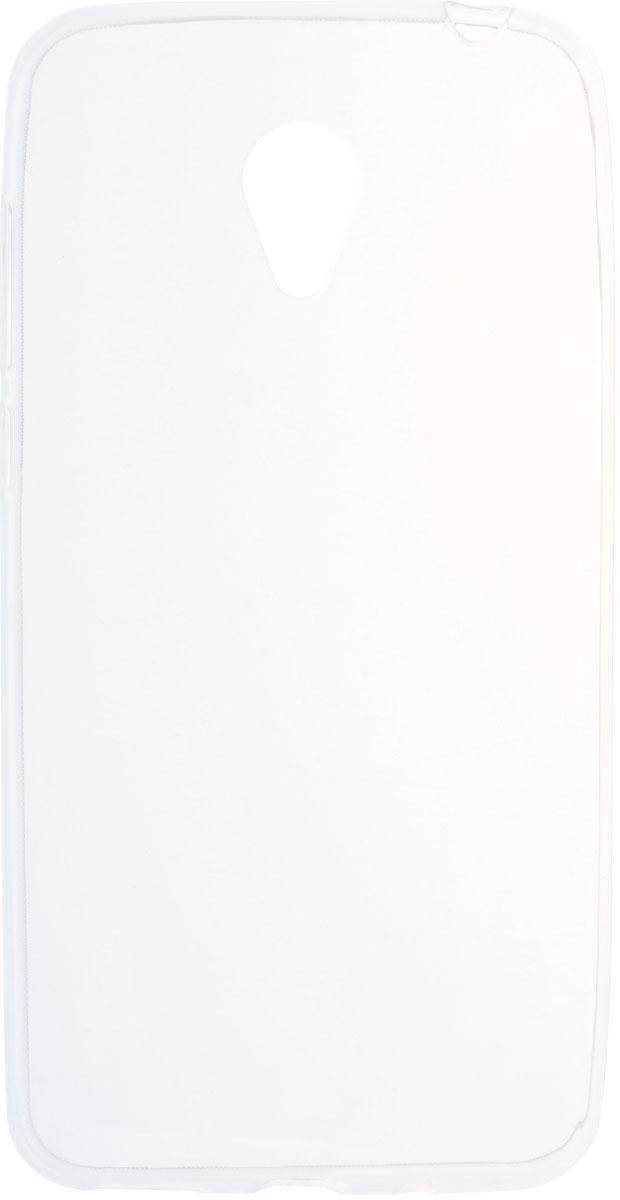 Skinbox Slim Silicone чехол для Meizu M2 mini, Transparent