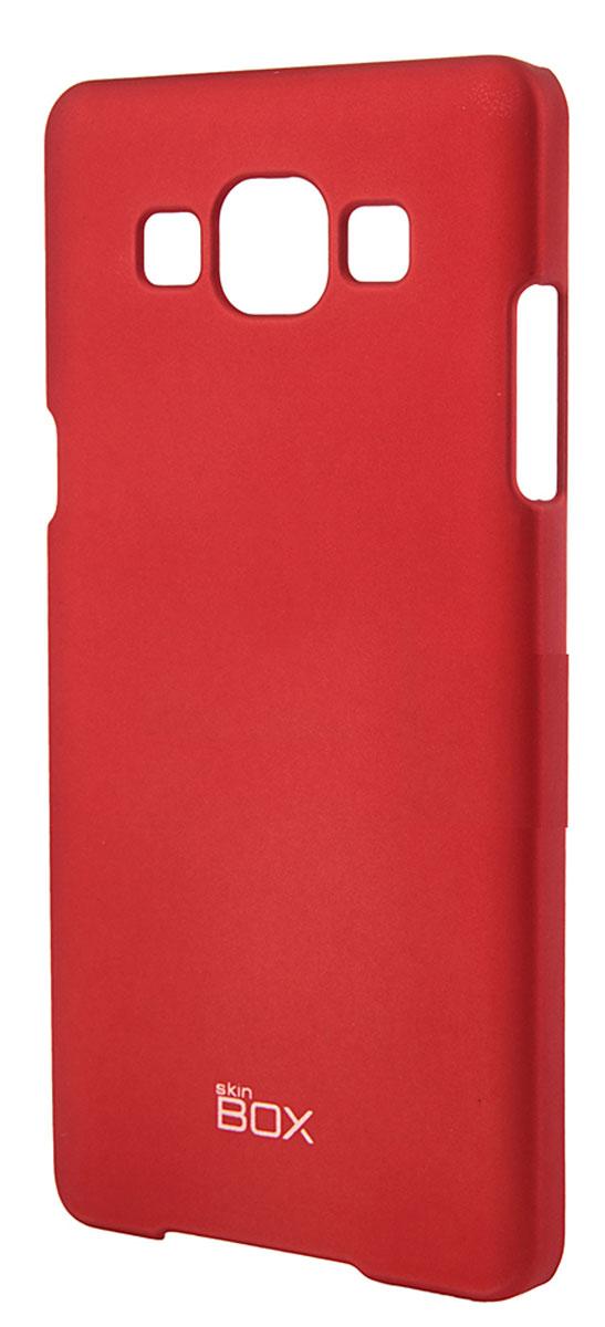 Skinbox 4People чехол для Samsung Galaxy A5 (2016), Red2000000088815Чехол-накладка Skinbox 4People для Samsung Galaxy A5 бережно и надежно защитит ваш смартфон от пыли, грязи, царапин и других повреждений. Выполнен из высококачественного поликарбоната, плотно прилегает и не скользит в руках. Чехол-накладка оставляет свободным доступ ко всем разъемам и кнопкам устройства.