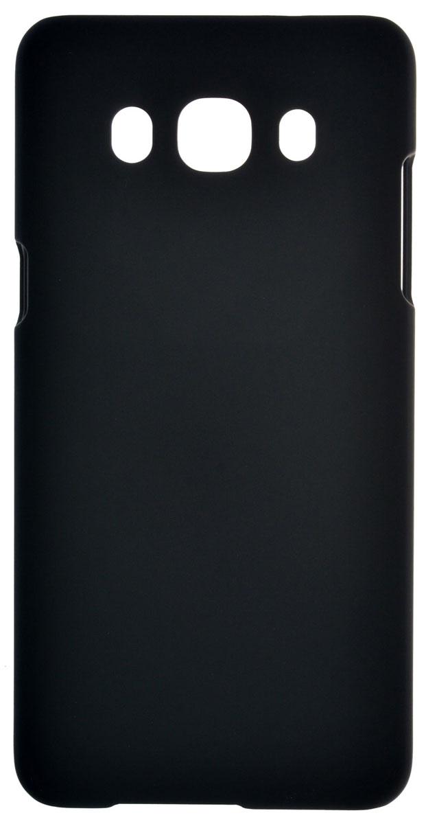 Skinbox 4People чехол для Samsung Galaxy J5 (2016), Black2000000090726Чехол-накладка Skinbox 4People для Samsung Galaxy J5 (2016) бережно и надежно защитит ваш смартфон от пыли, грязи, царапин и других повреждений. Выполнен из высококачественного поликарбоната, плотно прилегает и не скользит в руках. Чехол-накладка оставляет свободным доступ ко всем разъемам и кнопкам устройства.