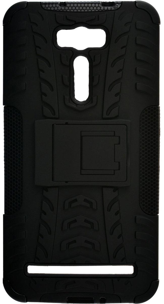 Skinbox Defender Case чехол для Asus ZenFone 2 Laser ZE601KL, Black2000000088006Чехол-накладка Skinbox Defender Case для ASUS ZenFone 2 Laser ZE601KL бережно и надежно защитит ваш смартфон от пыли, грязи, царапин и других повреждений. Выполнена из высококачественного поликарбоната, плотно прилегает и не скользит в руках. Чехол-накладка оставляет свободным доступ ко всем разъемам и кнопкам устройства.