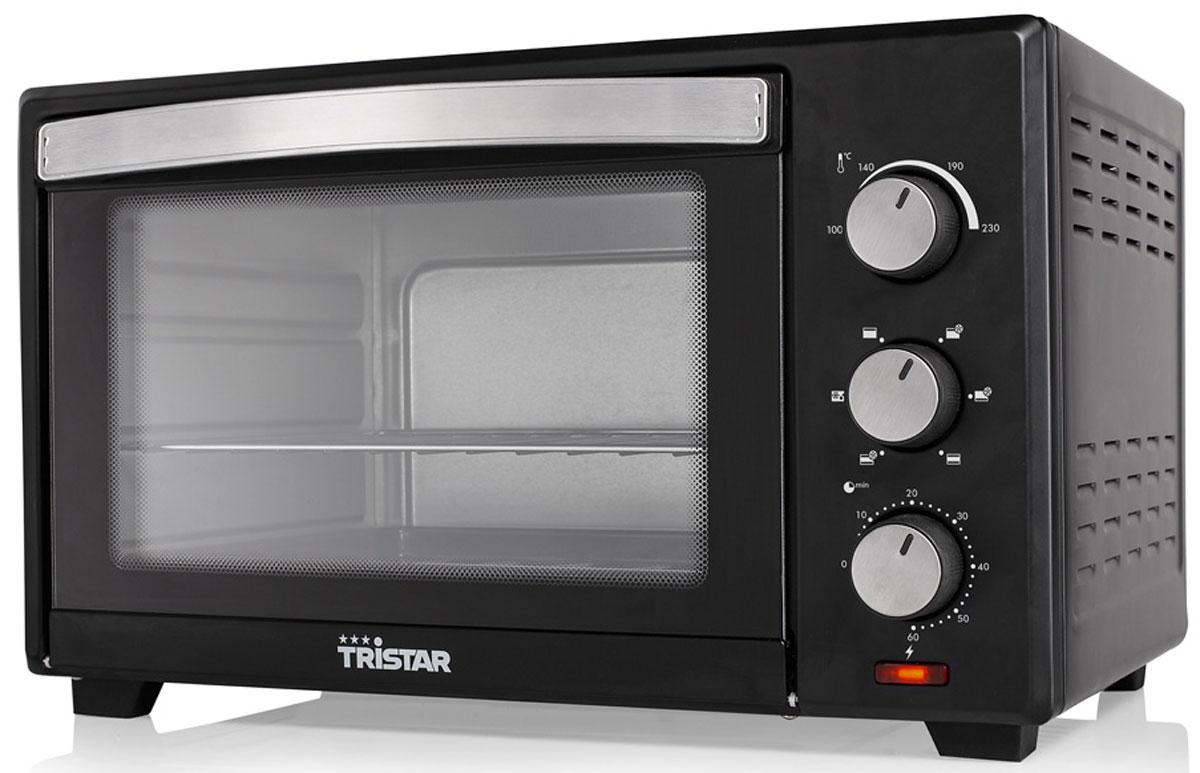 Tristar OV-1440, Black минипечьOV-1440Мини-печь Tristar OV-1440 обладает объемом 28 литров и мощностью 1600 Вт. Этот компактный прибор пригодится на любой кухне. Выпекайте любимые пироги и блюда с комфортом. Внутренняя поверхность имеет долговечное стойкое покрытие. Таймер с сигналом на 60 минут позволит рассчитать точное время приготовления блюд. Регулировка температуры 100 - 230° C Противень: 30 х 35,5 см