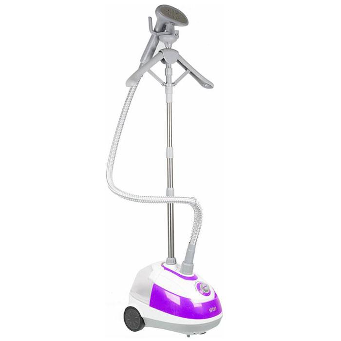 Sinbo SSI 2893, Purple отпаривательSSI 2893Отпариватель Sinbo SSI 2893 легко удаляет складки с одежды и предназначен как для дома, так и для магазинов одежды, ателье, швейных цехов. Отпариватель придает вещам товарный вид после транспортировки, поможет провести предпродажную подготовку, а также удаляет неприятные запахи, устраняет пятна пота, примятости. Интенсивность подачи пара данным устройством составляет 30 мл в минуту. Под действием пара волокна тканей не растягиваются и не сжимаются, как под воздействием утюга, а приобретают объемность, эластичность и первоначальный блеск. Готовность: 60 с Время непрерывной работы: 40 мин Количество режимов отпаривания: 4