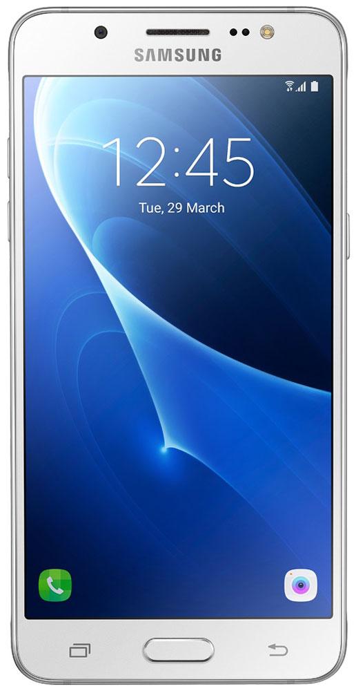 Samsung SM-J510FN Galaxy J5 (2016), WhiteSM-J510FZWUSERSamsung SM-J510FN Galaxy J5 отличается элегантным и стильным дизайном, который усиливает впечатление от смартфона. При толщине 7,9 мм и ширине 72 мм, смартфон Samsung Galaxy J5 выглядит более чем изящно, а приятная на ощупь текстура корпуса подчеркивает элегантность формы и ощущение комфорта при использовании смартфона. Аккумулятор с емкостью 3100 мАч позволит оставаться на связи дольше обычного. При отсутствии возможности подзарядки используйте режим максимального энергосбережения. Мощный 4-ядерный процессор Qualcomm MSM8916 и 2 ГБ оперативной памяти обеспечивают мгновенную реакцию смартфона на любые ваши действия. Удобное приложение Smart Manage Простой способ управления основными функциями смартфона: уровень заряда аккумулятора, доступный объем памяти, состояние использования оперативной памяти и безопасность смартфона. Телефон сертифицирован Ростест и имеет русифицированный интерфейс меню, а также Руководство пользователя.