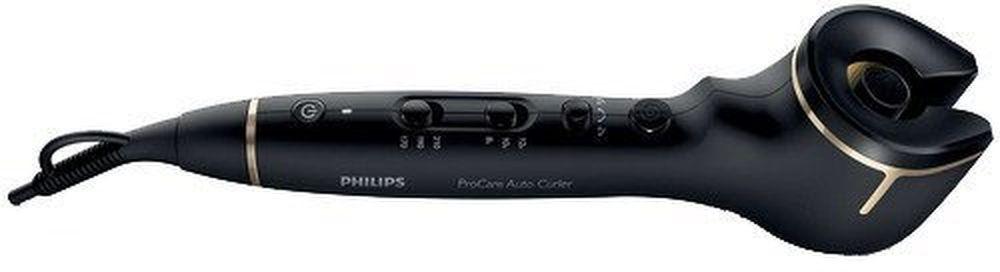 Philips HPS940/10, Black щипцы для укладки волосHPS940/10Щипцы для завивки Philips ProCare Auto (HPS940/10) позволяют создавать превосходные локоны. Благодаря профессиональному бесщеточному мотору прядь волос автоматически накручивается на титаново-керамический нагревательный корпус, нагревается и завивается — всегда идеальные локоны Надежный профессиональный бесщеточный мотор позволяет изменять направление завивки. Создавайте идеальные симметричные локоны, закрученные вправо или влево. Вы также можете использовать функцию автоматической завивки в двух направлениях для максимально естественного образа. Профессиональный вращающийся титаново-керамический корпус для быстрой завивки, гладких и блестящих волос. Титаново-керамическое покрытие корпуса равномерно распределяет тепло и создает превосходные локоны благодаря идеально гладкой поверхности. 3 настройки температуры (170/190/210 °C) и 3 настройки времени (12/10/8 сек) позволяют создавать естественные свободные или упругие локоны. Для...