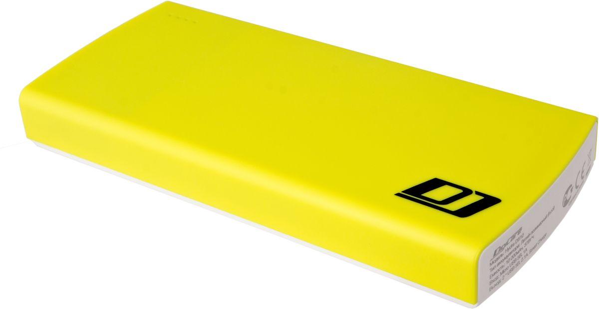 DigiCare Hydra DS10, Yellow White внешний аккумулятор (10000 мАч)PB-HDS10yВнешний аккумулятор DigiCare Hydra DS10 подойдет для зарядки практически всех мобильных устройств - смартфонов и планшетов, плееров и цифровых камер. Небольшие габариты и яркий дизайн. Высокая емкость. Как и во всех аккумуляторах DigiCare серии Hydra, в модели DS10 реализована функция Smart Charge - аккумулятор сам определяет подключенное к нему устройство и обеспечивает максимальный ток зарядки. Больше не будет странных ситуаций, когда аккумулятор с гордой надписью 2.4А отдает вашему устройству меньше одного ампера.