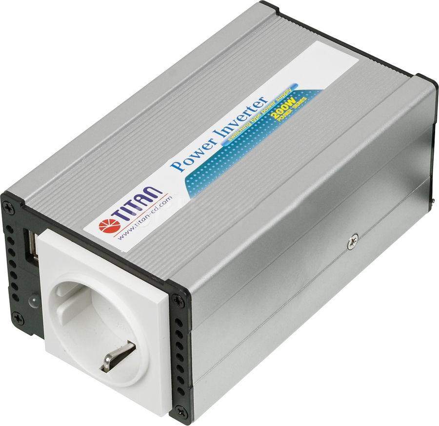 Автоинвертор Titan TP-200E5TP-200E5Портативный адаптер питания компании Titan является идеальным устройством питания для DVD-плееров, мобильных телефонов, ноутбуков и многих других электронных приборов . Адаптирован к большинству типов электронной техники. Многоуровневая защита, в том числе от перегрева, скачков напряжения и перегрузки, обеспечивает безопасность эксплуатации. Несомненно, Titan - Ваш лучший друг в мире систем электропитания!