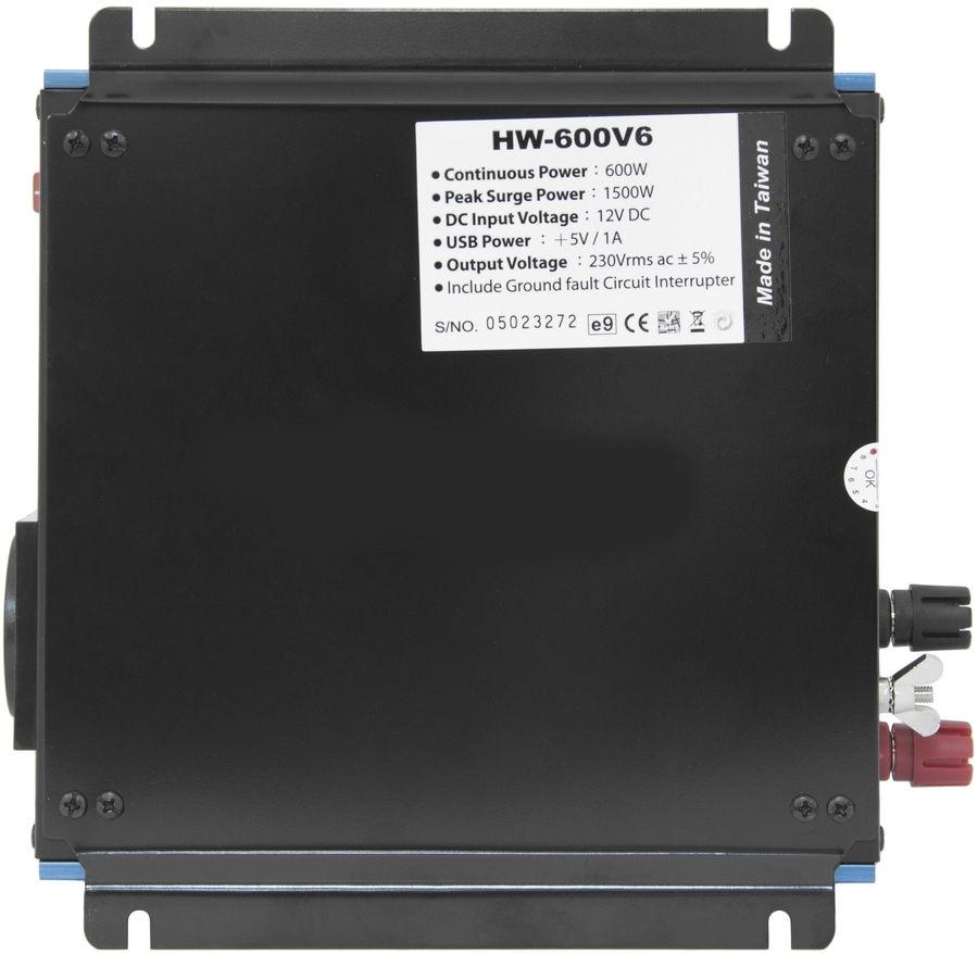 Автоинвертер Titan HW-600E6HW-600E6Портативный адаптер питания компании Titan является идеальным устройством питания для DVD-плееров, мобильных телефонов, ноутбуков и многих других электронных приборов . Адаптирован к большинству типов электронной техники. Многоуровневая защита, в том числе от перегрева, скачков напряжения и перегрузки, обеспечивает безопасность эксплуатации. Несомненно, Titan - Ваш лучший друг в мире систем электропитания!
