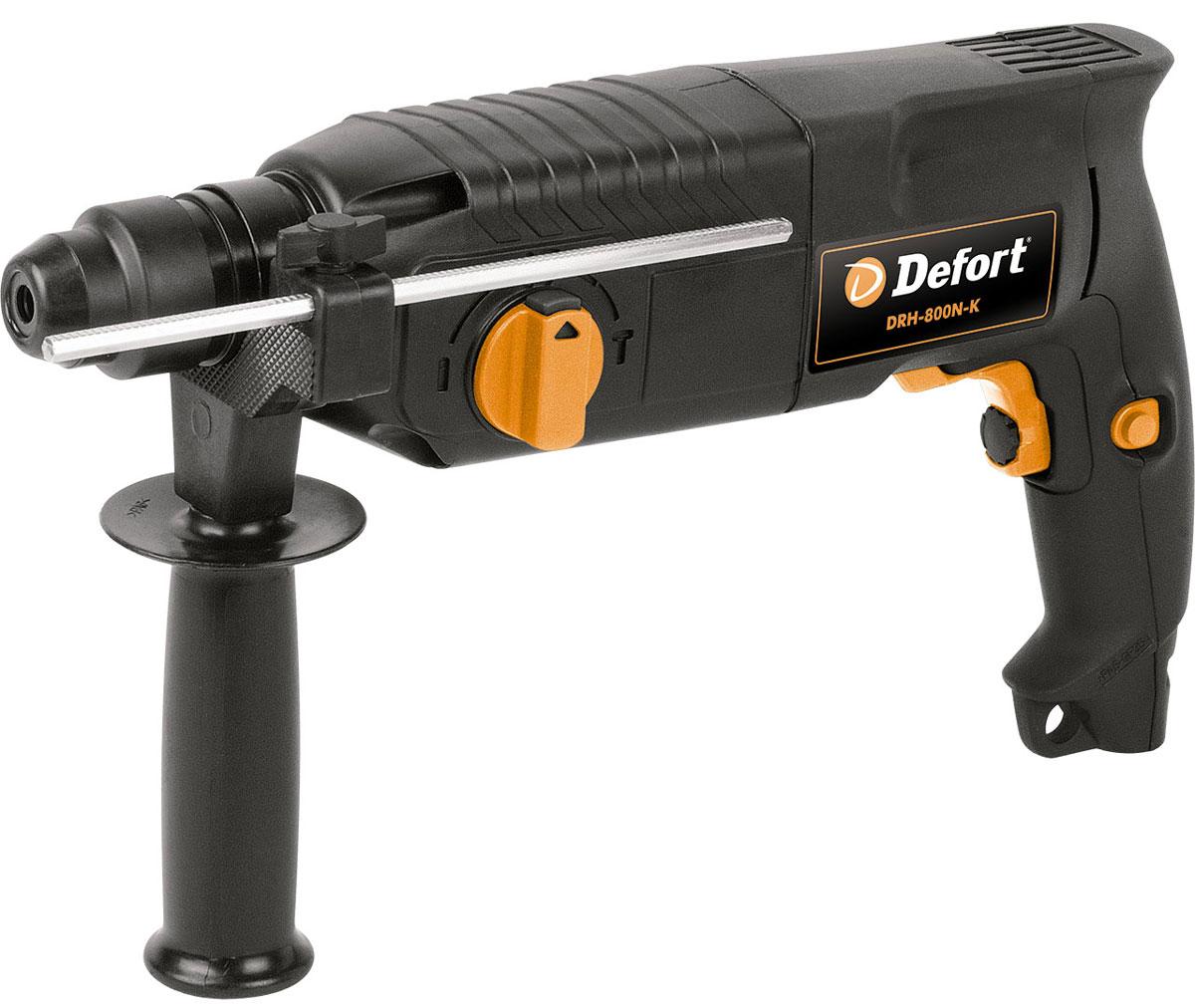 Перфоратор электрический Defort DRH-800N-K , цвет: черный93720360_черный